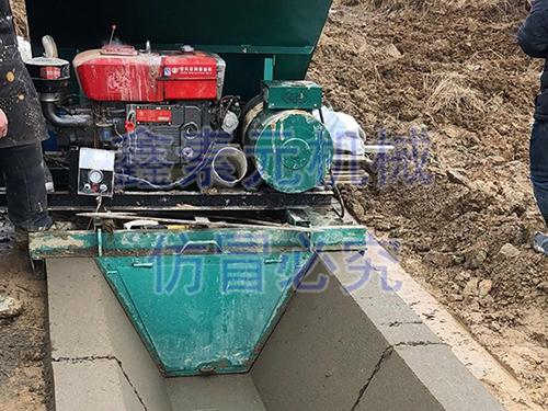 鄱阳县2017年度农田建设项目施工现场